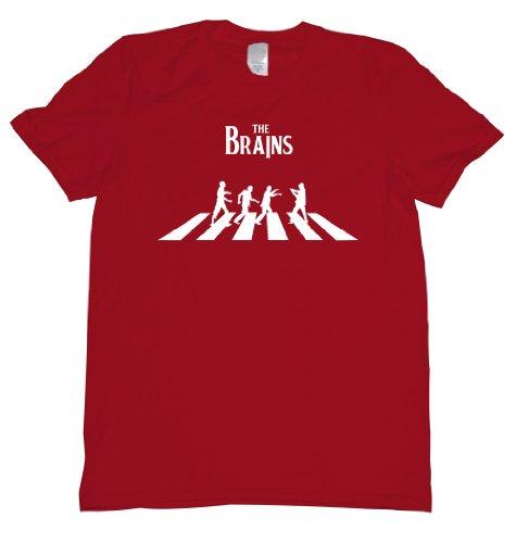 The ZomBeatles Tee Shirt Mens XXL red U ()