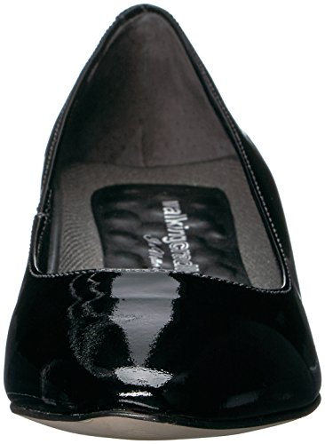 Women's Pump Walking Black Leather Heidi Cradles Patent vtqwT5q