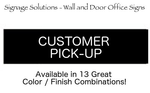 SIGNAGE SOLUTIONS // Wall or Door Sign //