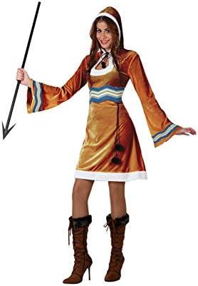 Atosa - Disfraz de esquimal para mujer, talla M/L (16450): Amazon ...
