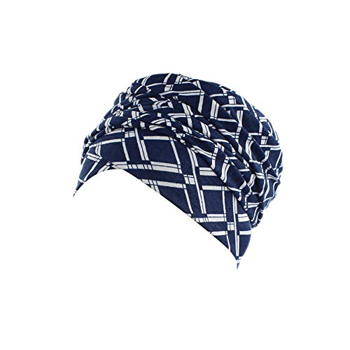 Winter Hats Clearance,WUAI Women India Muslim Elastic Turban Print Long Tail Hat Head Scarf Wrap(D,Free Size)