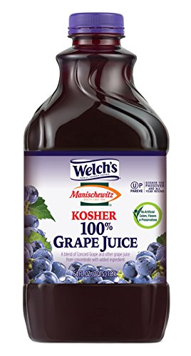 Welch's Manischewitz Kosher Grape Juice, 64 oz