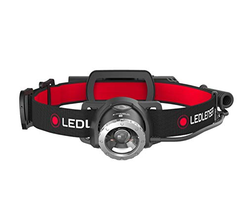 Ledlenser(レッドレンザー) LEDヘッドライト H8R 防災/作業用 【明るさ約600ルーメン】 【最長7年保証】 充電式 [日本正規品] 500853