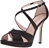 Kate Spade New York Women's Frances Dress Sandal, Black, 9.5 M US