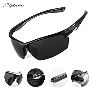 Driving Polarized Sports Sunglasses for Men and Women with UV400 Protection, Anti-Fog Patented Technology. Lifetime Breakage Guarantee