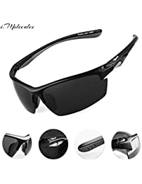 Driving Polarized Sports Sunglasses for Men and Women...