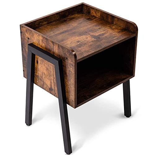 Living Room Metal Side Table - 7