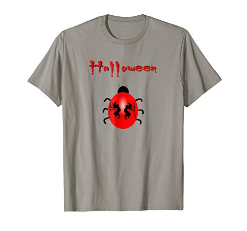 Halloween Ladybird Witch Funny Scary,Creepy t shirt Gift -