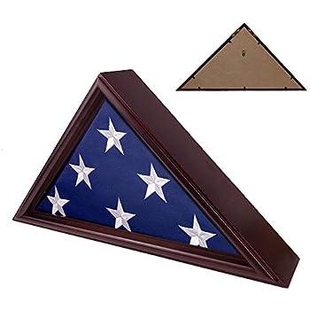 Amazon.com: Entierro caja de bandera, bandera de ataúd ...