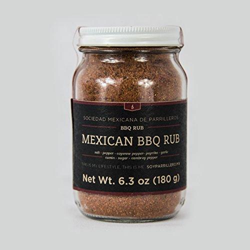(Mexican BBQ Rub. Gourmet BBQ Seasoning. Dry Rub/Marinade/Rib Rub. Mexican And Southern Style Seasoning. Sociedad Mexicana de Parrilleros)