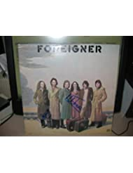 """FOREIGNER signed """"Cold As Ice"""" album cover / UACC RD # 212"""