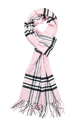 Achillea Scottish Tartan Plaid Cashmere Feel Winter Warm Scarf Unisex