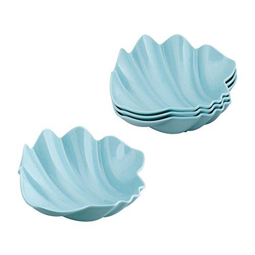 "Gourmet Art 4-Piece Shell Melamine 8"" Bowl"
