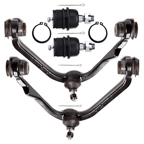 Ocpty New 4 Piece Fit For 1997 2003 Ford Expedition F 150 Heritage And Lightning Pickup F 250 Pickup Lincoln Navigator Blackwood 2 Upper Left Control Arm W Ball Joint 2 Lower Ball Joint