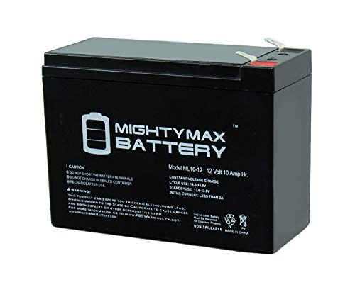Mighty Max Battery 12V 10AH Battery Replacement for CyberPower Intelligent LCD 1500VA Brand Product