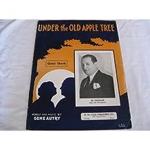 UNDER THE OLD APPLE TREE AL HANDLER 1932 SHEET MUSIC FOLDER 454 SHEET MUSIC