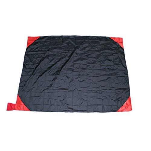 utomhus Nappe de pique-nique imperméable–Siège Tapis étanche pour Festival ou camping–Plage Couverture avec sac