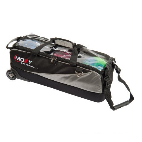 Moxy Slim Triple Roller Bowling Bag by Moxy Bowling