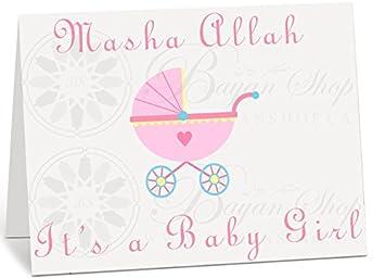 Amazon.com: New Baby Girl CR12, tarjeta de recién nacido ...