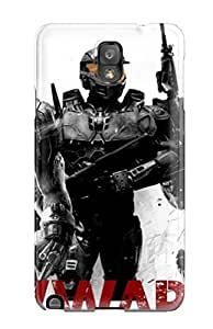 For Galaxy Note 3 Premium Tpu Case Cover Halo Iron Man Protective Case
