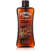 Hawaiian Tropic Dark Tanning Sun Care Moisturizing Oil - 8 Ounce