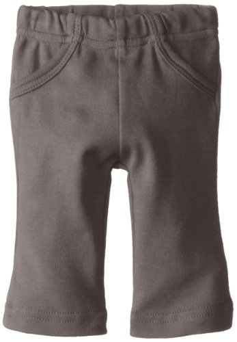 L'ovedbaby Baby Boys' Organic Lounge Pants (Baby) -Gray-3-6 Months