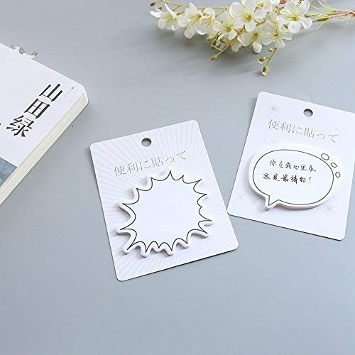 Cloud Pattern Self Stick Notes Classified Lables for Notebook Durable and Useful