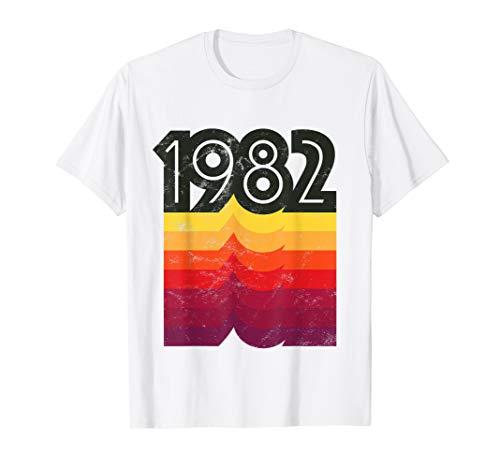 1982 Shirt 37th Birthday T-Shirt Retro 80s Style