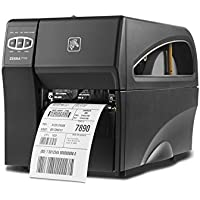 Zebra Technologies ZT41043-T310000Z Series ZT410 4 DT/TT Tabletop Printer, 300 dpi Resolution, Tear Bar, Power Cord with US Plug, USB 2.0/RS-232 Serial/10/100 Ethernet, Bluetooth 2.1, EZPL