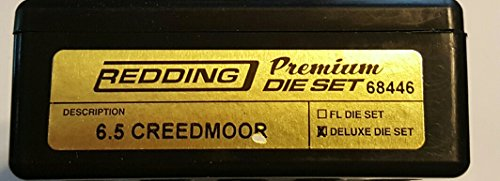 Redding 6.5 Creedmoor Premium Series Deluxe Die Set (68446) by Redding