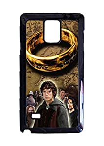Engood Design Lord Of The Rings Movie Logo Case Durable Unique Design Hard Back Case Cover For Samsung Galaxy Note 4 New