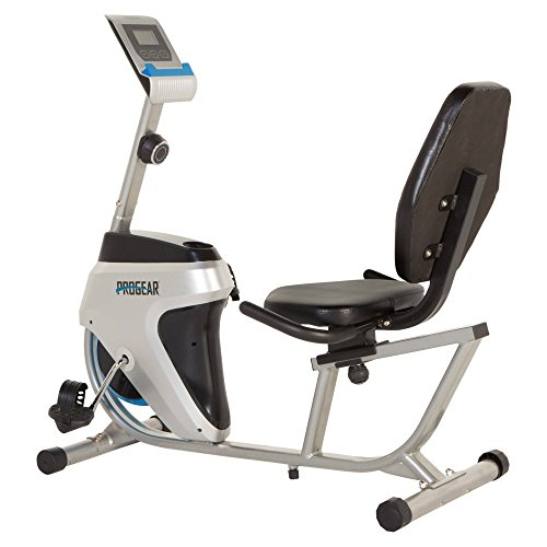 PROGEAR 555LXT Magnetic Tension Recumbent Bike Paradigm Health and Wellness Inc