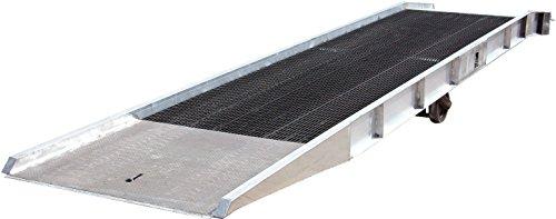 Vestil SY-169336-L Aluminum Yard Ramp with Steel Grating, 16000 lb, 432