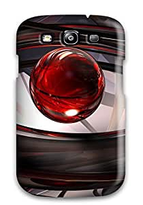 Hot Tpu Cover Case For Galaxy/ S3 Case Cover Skin - K Abstract