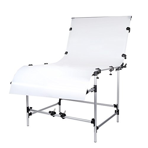 Andoer 100 x 200cm Photo Studio Photography Shooting Table for Still Life Product Shooting Aluminum Alloy Frame by Andoer (Image #9)