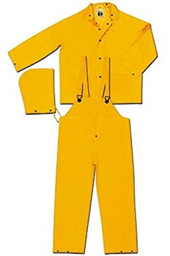 - Safety Zone Rain Suit Men's including Jacket, Hood, Bib Pants (1, L) - November Sale