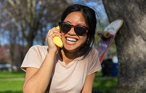Banana Phone Bluetooth Handset for iPhone or Android Cell Phones