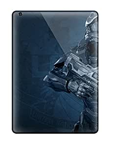 Defender Case For Ipad Air, Halo 4 Master Chief Pattern