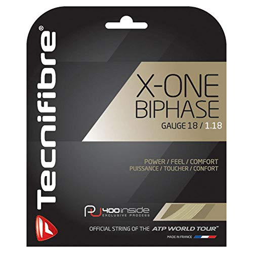 Natural Gut 15l - Tecnifibre X-One Biphase Tennis String Natural (15L)