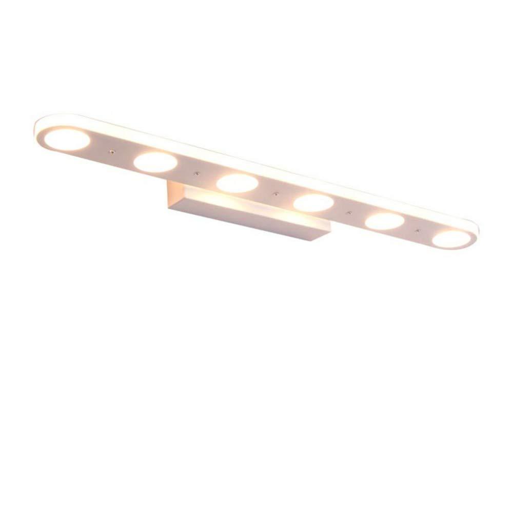 Wandleuchten luckyNO.1 Led-Nordic Badezimmerspiegel Scheinwerfer Bad Make-Up, 4 Kopf 37Cm Gelbes Licht Wandlampe