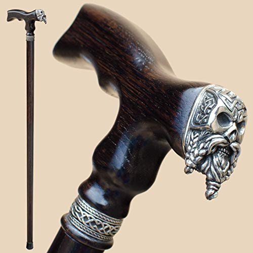 Celtic Skull Walking Cane for Men Fashionable 32