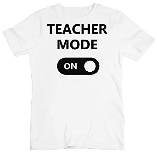 The Button Teacher Mode On Men's T-Shirt