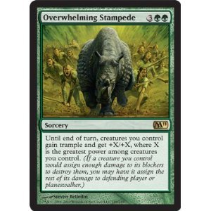 Magic: the Gathering - Overwhelming Stampede - Magic 2011