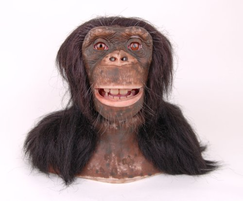 WowWee Chimpanzee Alive Animatronic Life Like Chimp Robot Monkey with (Chimp Monkey)