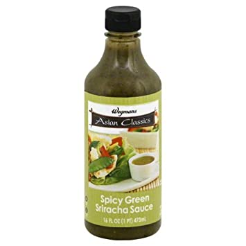 Wegmans Spicy Green Sriracha Sauce (16oz)