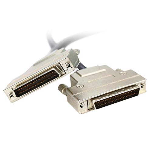 ShineBear HPDB50 SCSI Cable HPDB50 Pin Male to Male Cable HPDB 50 Pin to HPDB 50Pin Cable Professional Customization - (Cable Length: 5m) by ShineBear