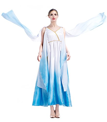 PINSE Roman Egypt female Greek Goddess Costume (M)
