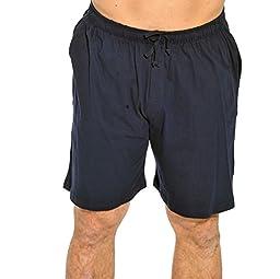 14501-Navy-XL At the Buzzer Men\'s Pajama Shorts / Sleepwear / PJs