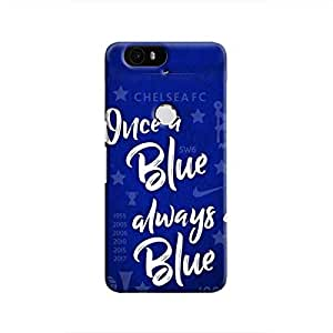Cover It Up - Chelsea- Once a Blue Nexus 6P Hard Case