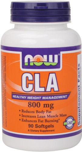 NOW Foods Cla 800 mg, 90 gélules